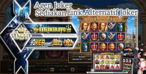 Agen Joker Gaming Sediakan Link Alternatif Slot